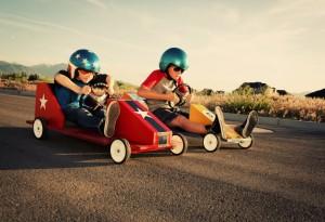 go cart racer kids