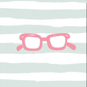 Cartoon eyeglasses