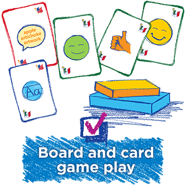 Board and Card Game Play