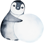 small penguin drawing