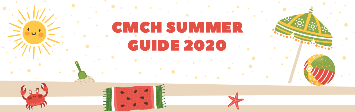 CMCH Summer Guide 2020 - Beach banner image